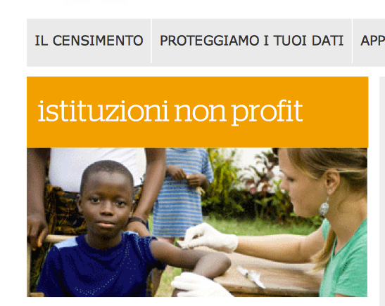 Colpe del non profit e inadeguatezza dell&#039;ISTAT